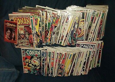 conan the barbarian 131 issue comics lot run set movie collection king marvel
