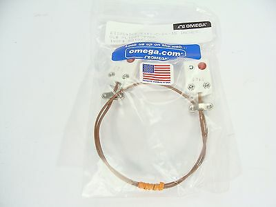 "NEW Omega EXTT-C-24 Type C Thermocouple Extension Cable F-F 15"" Length"