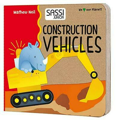 Puzzle 2: Construction Vehicles Shapes - Junior Free Shipping!