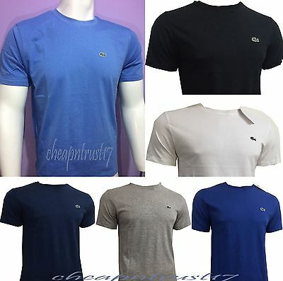 Lacoste Short Sleeve Crew Neck t shirt For Men, Summer Sale