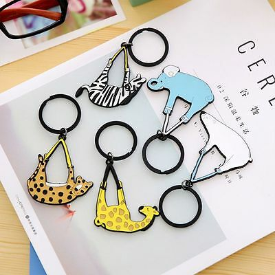 Cartoon Nice Lovely Metal Key Ring Key Holder Handbag Bag Pendant Key Chain