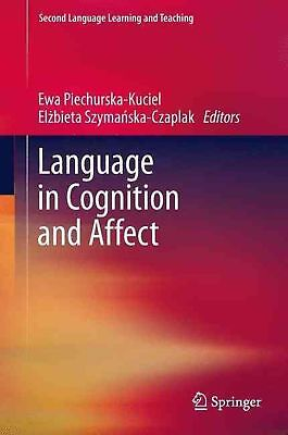 Language in Cognition and Affect (English) Paperback Book