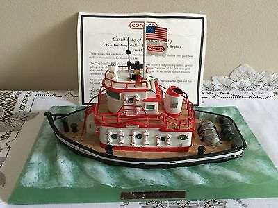 °1973 Tagalong Shallow River Push Boat Replica First Edition Conoco 1998