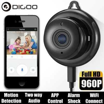 Digoo 960P Wireless Mini WiFi Smart IP Camera Home Security Night Vision Onvif