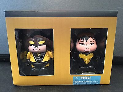 "Disney 3"" Vinylmation - Marvel Yellowjacket and Wasp 2 Pack set LE 1000 New NIB"