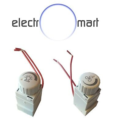 Dimmer Mech & Fan Mechanism LED Downlight Light Switch Clipsal Compatible