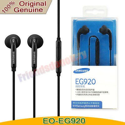 New Original OEM Samsung Galaxy S7 S6 Note 5 Edge Headset Earbuds EO-EG920
