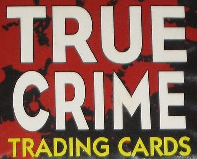 true crime  -  series # 1 and # 2  -  complete sets  -  220 trading cards