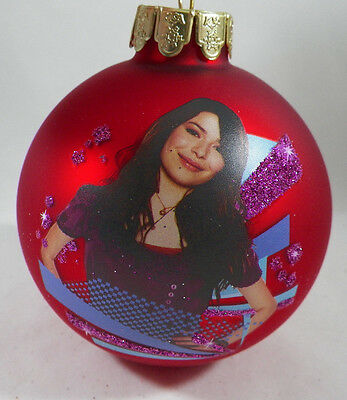 iCarly Red Glass Ball Christmas Tree Ornament new holiday