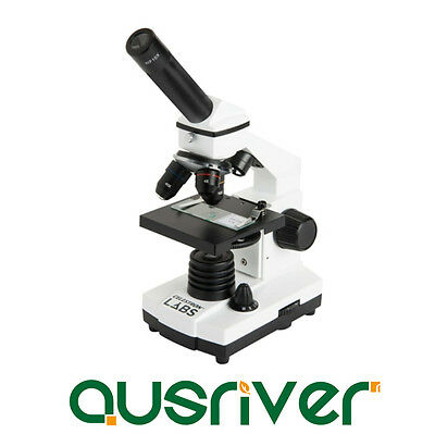 Celestron Labs CM800 40-800x Compound Biological Binocular Microscope 44128