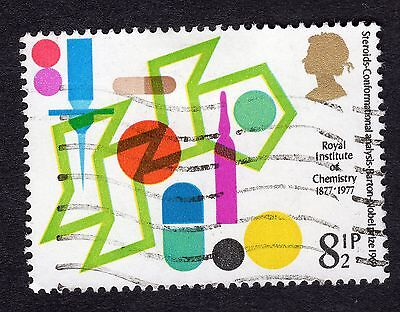 1977 8.5p Steroids Royal Institute Chemistry Centenary SG 1029 FINE USED R19606