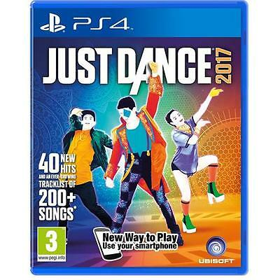 Just Dance 2017 Game for Sony PlayStation 4 PS4 NEW & SEALED UK PAL