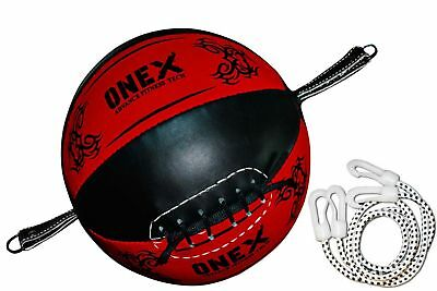 Double End Dodge Speed Ball MMA Boxing Floor to Ceiling Original Leather Ball