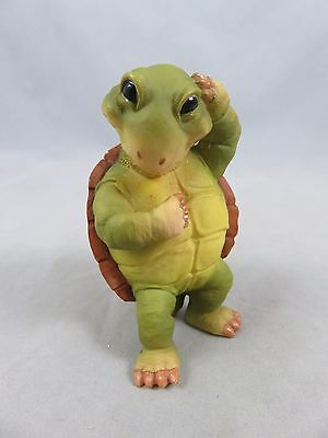 W.U.I. - Turtle Figurine - Resin - 2000
