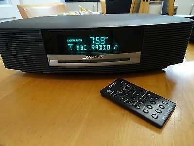 bose wave iii music system 3 dab and dab fm am cd picclick uk. Black Bedroom Furniture Sets. Home Design Ideas