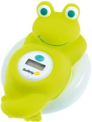 Safety 1st BATH THERMOMETER DIGITAL FROG Fun Safe Digital Screen Floating - BN