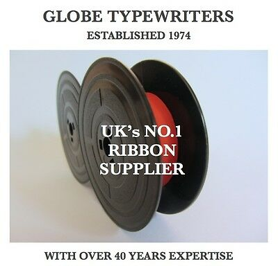 1 x OLIVETTI EDITOR 3 ELECTRIC *BLACK/RED* TOP QUALITY *10M* TYPEWRITER RIBBON