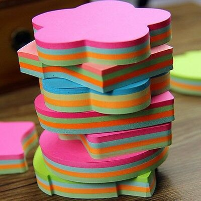 100 Page Shape Sticker Post-It Bookmark Marker Memo Flags Index Tab Sticky Note