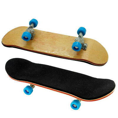 Hot Professional Finger Board Wooden Skateboard Alloy Bearing Wheel Sport Tools