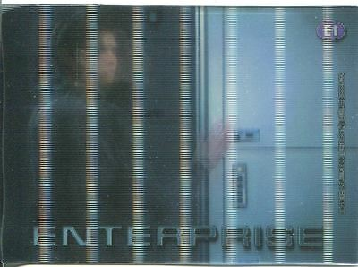 Star Trek Enterprise Season 2 In Motion Case Topper Chase Card E1