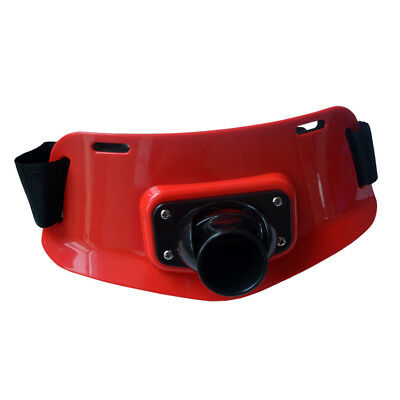 Fishing Gimbal Fighting Belt Fishing Rod Holder Stand-up Waist Support Red
