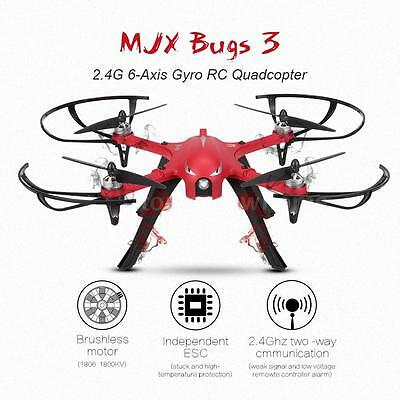 MJX Bugs 3 2.4G 6-Axis Independent ESC Drone Support XiaoYi Action Camera N1L4