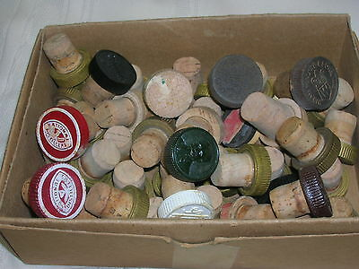 48 Distillery Bottle Corks National Distillers Hiram Walker & Sons Inc Riondo