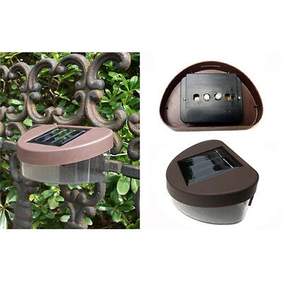 Automatic Solar Fence Light Solar Gutter Light Outdoor Garden LED Yard Pathway