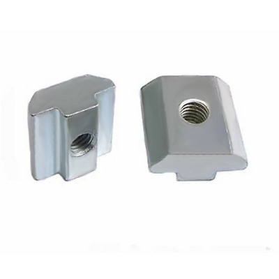 20pcs/Lot T Sliding Nut Block Square Nuts 3030 M4 M5 M6 Aluminum Profile Slot
