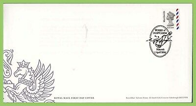 G.B. 2004 Worldwide Postcard NVI on u/a Royal Mail First Day Cover, Falmouth