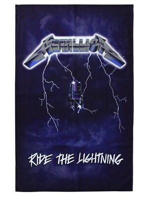 Metallica Ride The Lightning Textile Flag