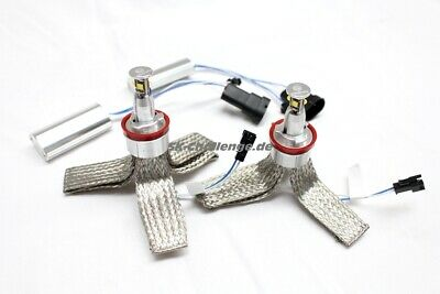 2x40 Watt/ 80Watt High Power LED Angel Eyes H8 BMW e82,e88,e92,e93,e90,e91 LCI