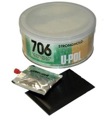 U-POL STRONGHOLD 706 Smooth/High Adhesion Body Filler for Plastics