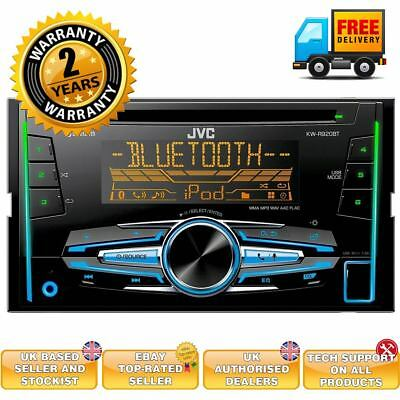 JVC KW-R920BT Car CD MP3 Stereo Built-in Bluetooth iPod iPhone Control USB Aux
