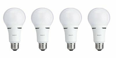 Philips 459156 40/60/100W Equivalent 3-Way A21 LED Light Bulb (4 Pack)