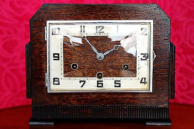 Vintage Art Deco German 'Foreign' Mantel Clock with Westminster Chimes