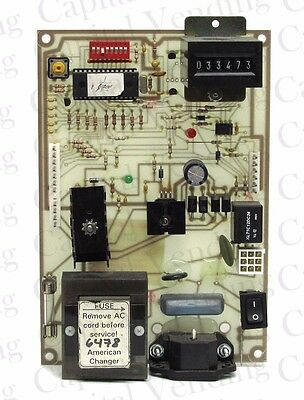 Legacy American Changer Pulse Interface Control Board for AC 1001 AC 1005