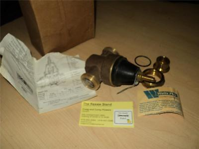 "Watts Regulator 3/4"" N 45BUS Bronze Water Pressure Reducing Valve"