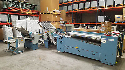 MBO B-32-S Continuous Perfection 6-Plate folder + B26-S 4-Plate 8pg – Stahl Baum