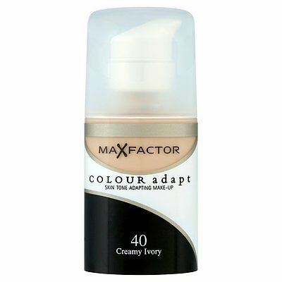 Max Factor Colour Adapt Foundation 34ml (choose shade from drop down list)