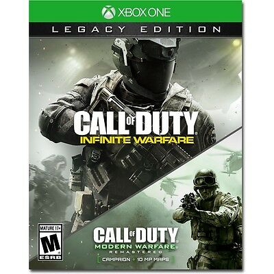 Call of Duty Infinite Warfare Legacy Edition (Xbox One, Game) Brand New Sealed