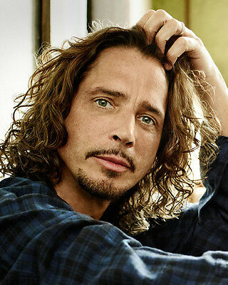 Chris Cornell 8x10 Photo R.I.P. Lab Printed Color Picture #125