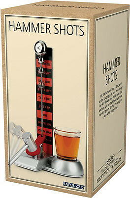 Barbuzzo Hammer Shot Glass Drinking Game - Other