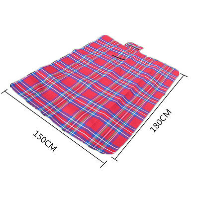 Handy Mat Strap Beach Blanket Camping Picnic Pad Outdoor Sitting Floor Relax S1