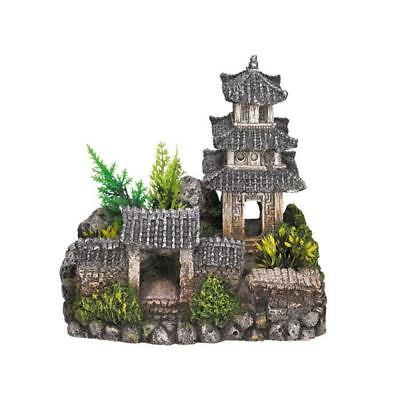 NOBBY Aqua Deco Asian temple 185x142x170mm pour aquarium