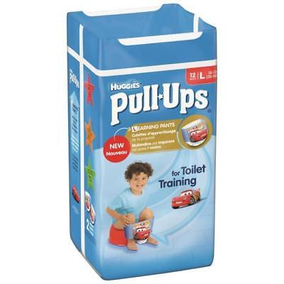 HUGGIES Pull-Ups Boy Taille 6 16-23kg couches x12