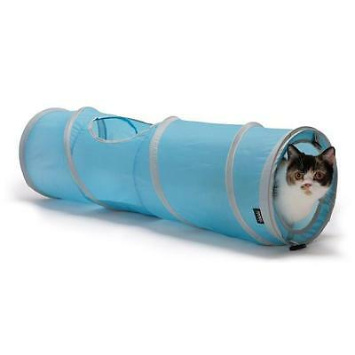 KITTY CITY Jouet Tunnel 28x28x91cm - Pour chat