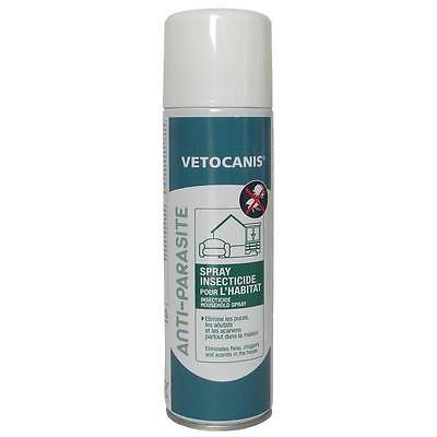 VETOCANIS Spray insecticide - Pour l'habitat