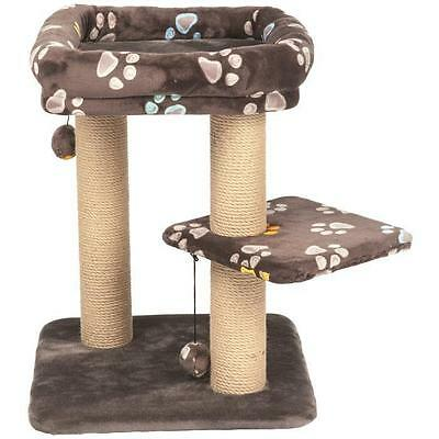 TRIXIE Arbre a chat Jimmy carré - H58 cm - Taupe