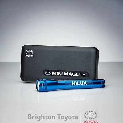 New Official Toyota Merchandise Hilux Maglite Torch  Part TMHIL012
